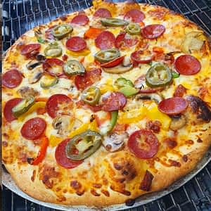 PIZZA – 12 inch with 3 toppings